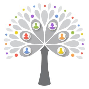 decorative image of a tree