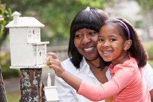 photo of african american girl with african american woman